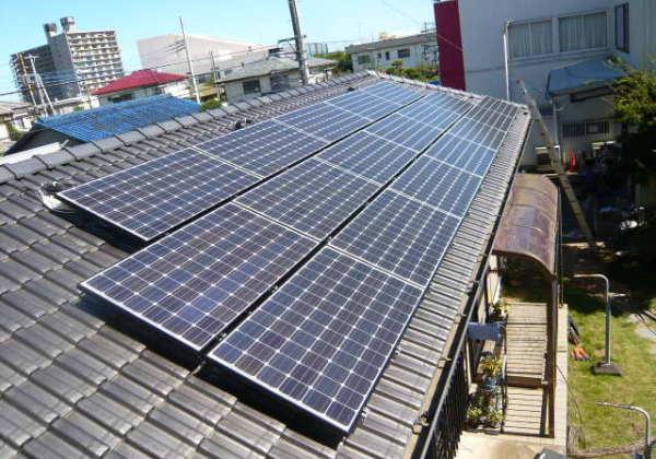 太陽光発電4.08kw