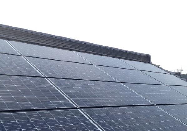 太陽光発電4.13Kw