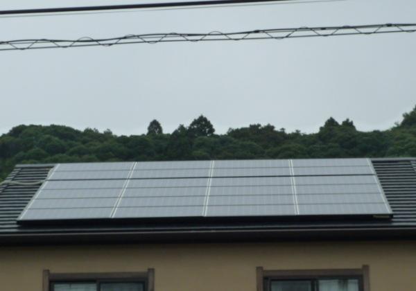 太陽光発電5.5Kw