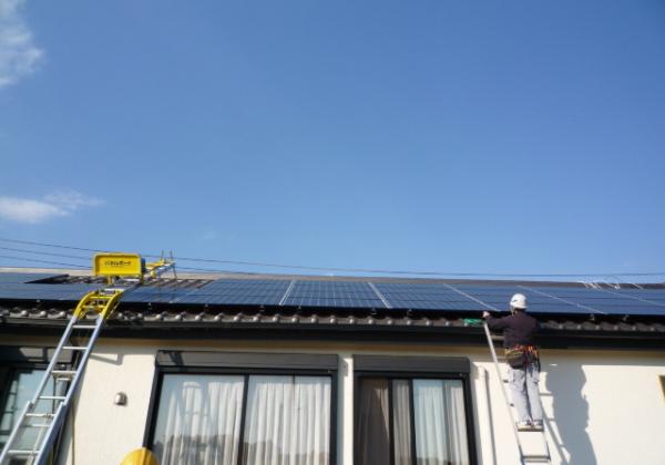 太陽光発電7.38Kw